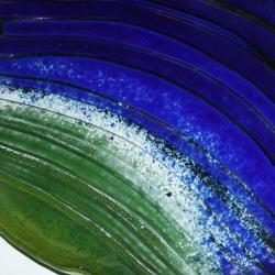 szklany taklerz Duży na ciasto design mięso - Ceramika i szkło - Wyposażenie wnętrz