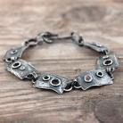 Bransoletki srebrna bransoleta