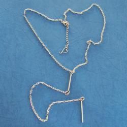 delikatny,subtelny,oryginalny - Naszyjniki - Biżuteria