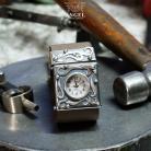Bransoletki zegarek ze srebra,srebrny zegarek damski