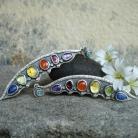 Oiolaire - kolczyki z kolorowymi kamieniami
