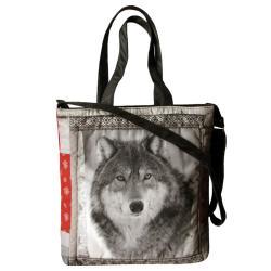 wilk,wataha,sfora,torba XXL,wolf - Na ramię - Torebki