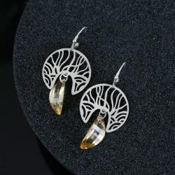 eleganckie kolczyki,kolczyki ze srebra - Kolczyki - Biżuteria