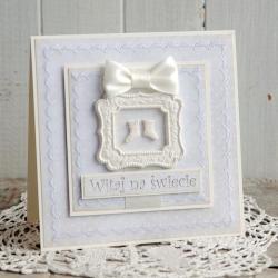 kartka,narodziny,chrzest,na prezent - Dla dzieci - Akcesoria