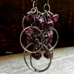 eleganckie,długie kolczyki - Kolczyki - Biżuteria
