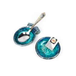 ceramika,podstawka,fusetka - Ceramika i szkło - Wyposażenie wnętrz