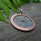 Wisiory celtycki,srebrny,miedziany,talizman