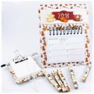 Komplety kalendarz,klamerki,notes,lodówka,magnesy,długopis