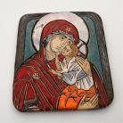 Ceramika i szkło Beata Kmieć,ikona,obraz,ceramika