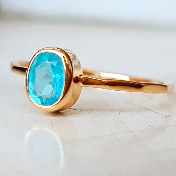 4002217a81c10d pierścionek,złoto,apatyt - Pierścionki - Biżuteria w ArsNeo
