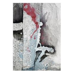 grafika,nowoczesna,abstrakcja,szary,obraz,wnętrze - Ilustracje, rysunki, fotografia - Wyposażenie wnętrz