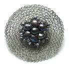 Broszki broszka,perły,pleciona,elegancka,szydełko