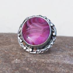 pierścionek,srebrny,oksydowany,zagatem,artseko - Pierścionki - Biżuteria