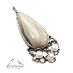 elegancki,kobiecy,okazały,retro - Wisiory - Biżuteria