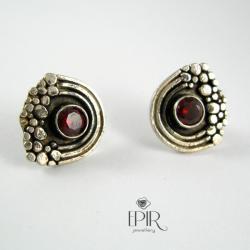 Kolczyki srebrne z cyrkoniami - Kolczyki - Biżuteria