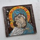 Ceramika i szkło Beata Kmieć,ikona ceramiczna,ikona,obraz