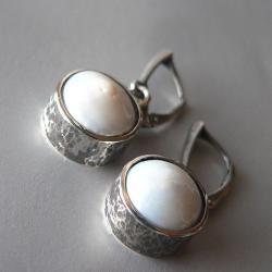 perły,z perłami, - Kolczyki - Biżuteria