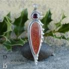 Wisiory kamień słoneczny,wisior,elegancja