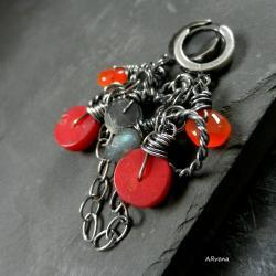 jesienne kolczyki,eleganckie - Kolczyki - Biżuteria
