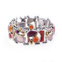 bransoletka,srebro,unikat,dla niej,prezent - Bransoletki - Biżuteria