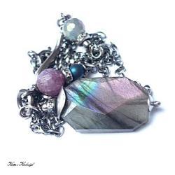 elegancki,surowy - Naszyjniki - Biżuteria