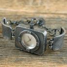 Inne srebrny zegarek