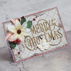 Święta,aniołek,merry christmas - Kartki okolicznościowe - Akcesoria