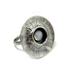 srebro,księżycowy,srebrny,szarości,księżyc - Pierścionki - Biżuteria