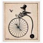 Ilustracje, rysunki, fotografia albert,rower,rycina,rysunek,kolaż