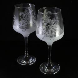 florystyczne,ślub,grawerowane - Ceramika i szkło - Wyposażenie wnętrz
