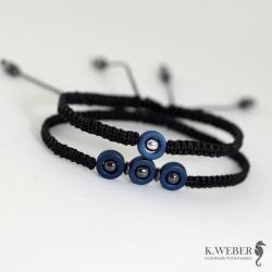 subtelne męskie bransoletki UNISEX - Komplety - Biżuteria