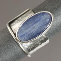 pierścionek kyanitem - Pierścionki - Biżuteria