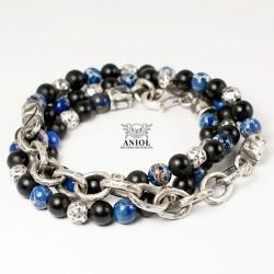 bransoleta z łańcuchem,biżuteria męska - Dla mężczyzn - Biżuteria