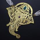 Naszyjniki naszyjnik słoń,hinduski naszyjnik