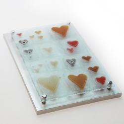 szklany obraz pomysł na prezent - Ceramika i szkło - Wyposażenie wnętrz