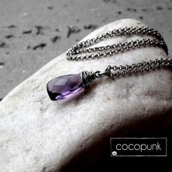 delikatny,kobiecy,eteryczny,minimalistyczny - Naszyjniki - Biżuteria