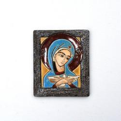 Beata Kmieć,ikona ceramiczna,obraz ceramiczny - Ceramika i szkło - Wyposażenie wnętrz