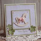 Kartki okolicznościowe kartka,dla maleństwa,chrzest,na prezent