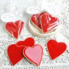 Ceramika i szkło podziękowania,weselne,serca,magnesy