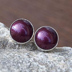 kolczyki,srebrne,proste,sztyfty,drobne,wkrętki - Kolczyki - Biżuteria