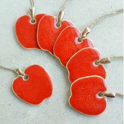 jabłuszka,choinka,owoce,swięta - Ceramika i szkło - Wyposażenie wnętrz