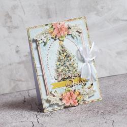 Święta,Boże narodzenie,choinka - Kartki okolicznościowe - Akcesoria
