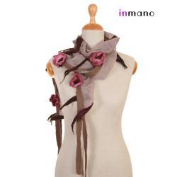 naszyjnik,szalik,na szyję,długi,krótki,filc - Inne - Dodatki