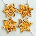 Ceramika i szkło śnieżynki,gwiazdki,zawieszki,dekoracje