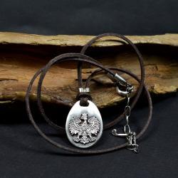 srebrny orzeł,wiosior patriotyczny, - Dla mężczyzn - Biżuteria