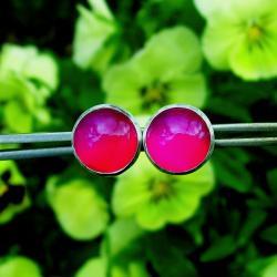 sztyfty,kolor,intensywne,wyraziste,Jewels by KT - Kolczyki - Biżuteria