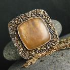 Naszyjniki srebro,kamień księżycowy,naszyjnik,wisior