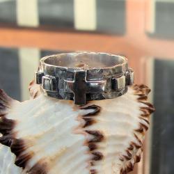 masywny,różaniec,industrialny - Inne - Biżuteria