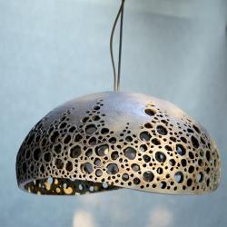 lampa wisząca,lampa ceramiczna - Ceramika i szkło - Wyposażenie wnętrz