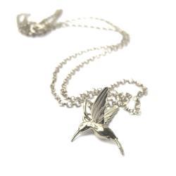 Naszyjnik z kolibrem - Naszyjniki - Biżuteria
